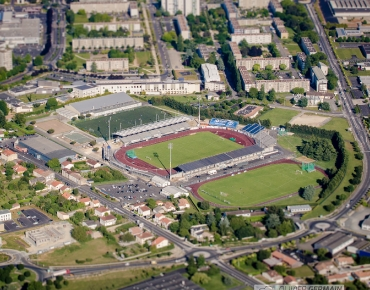 Photographie Aérienne - Stade Niortais