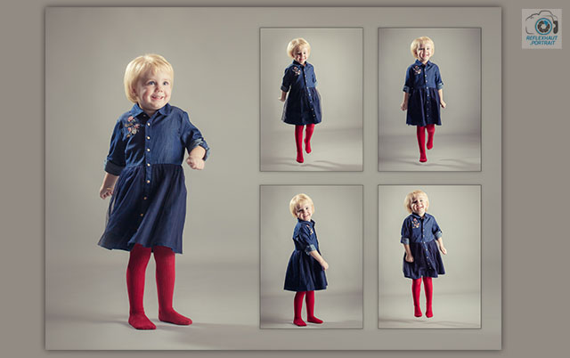 Photographe - Composition Photographique enfant - Studio Photo
